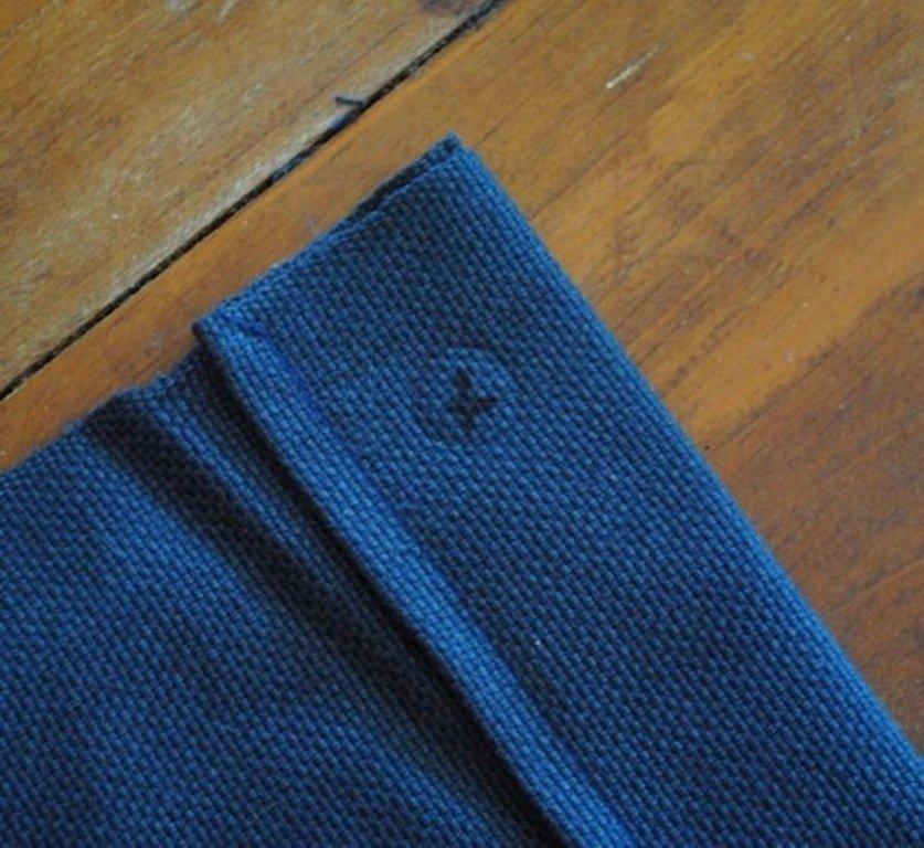 Третий этап шитья гамака своими руками