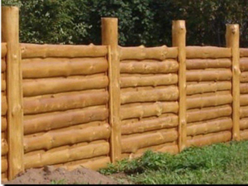 Как сделать своими руками забор из горбыля