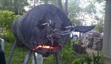 Мангал — бык