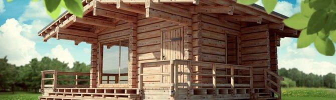 Этапы строительства бани из бруса