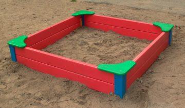 Классическая песочница для детей