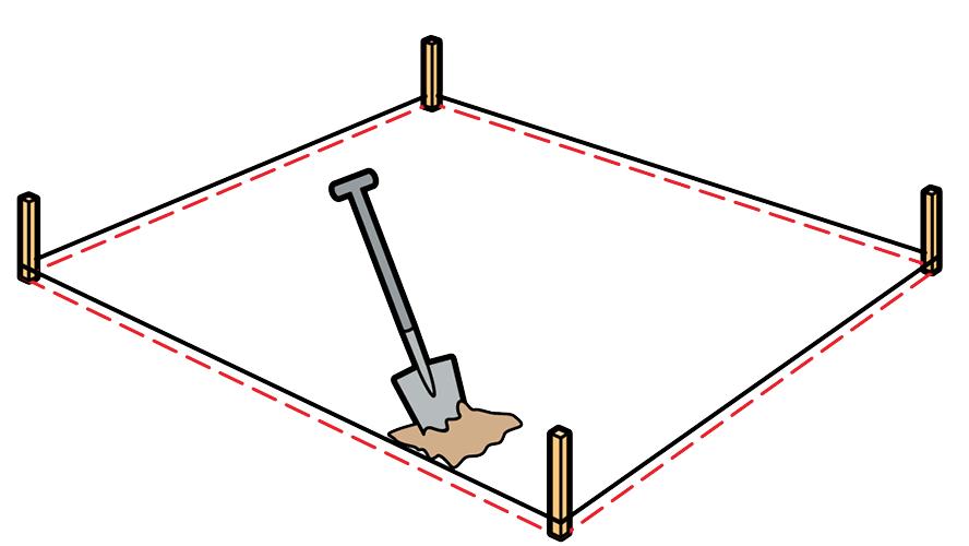 Разметка песочницы