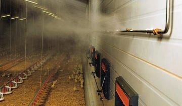 Система для создания микроклимата в птичнике