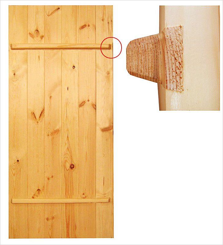 Изготовление деревянной двери для бани своими руками