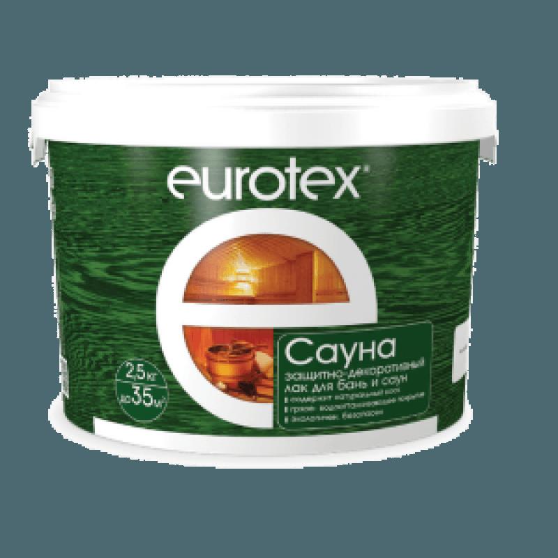 Лак для бань и саун Eurotex
