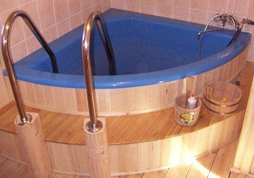 Бассейн своими руками в бане