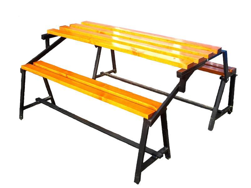 Складная скамейка стол