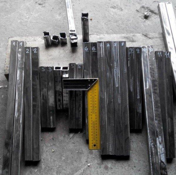 Заготовки для скамейки