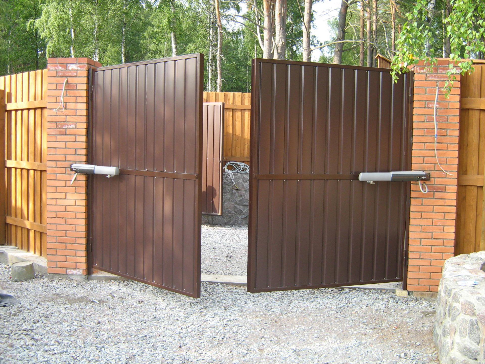 Инструкция автоматические ворота