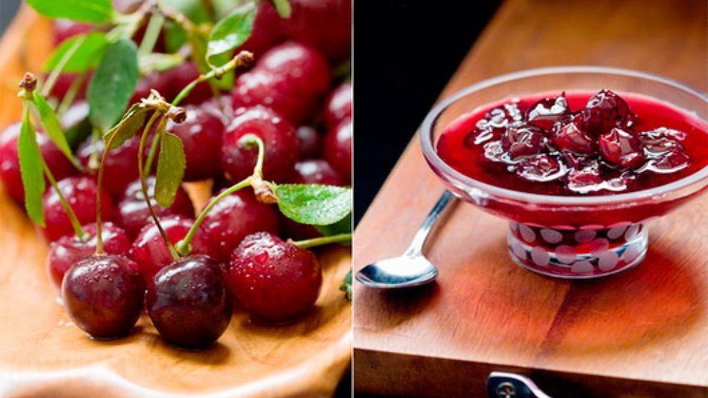 Заготовки из вишни войлочной на зиму рецепты