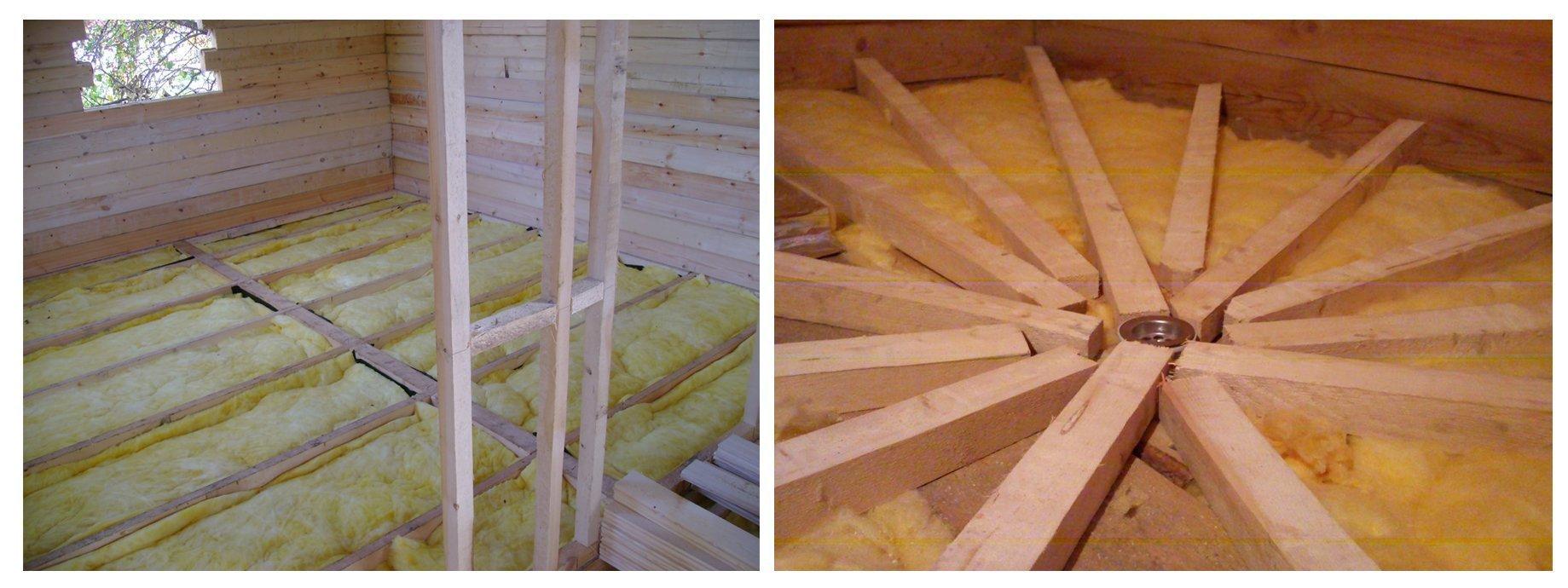 Как утеплить крышу бани своими руками: чем отделать потолок 53