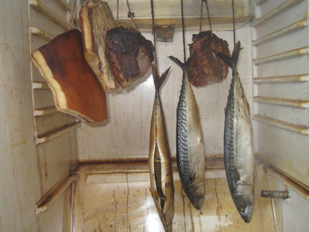 Коптильня холодного копчения из холодильника