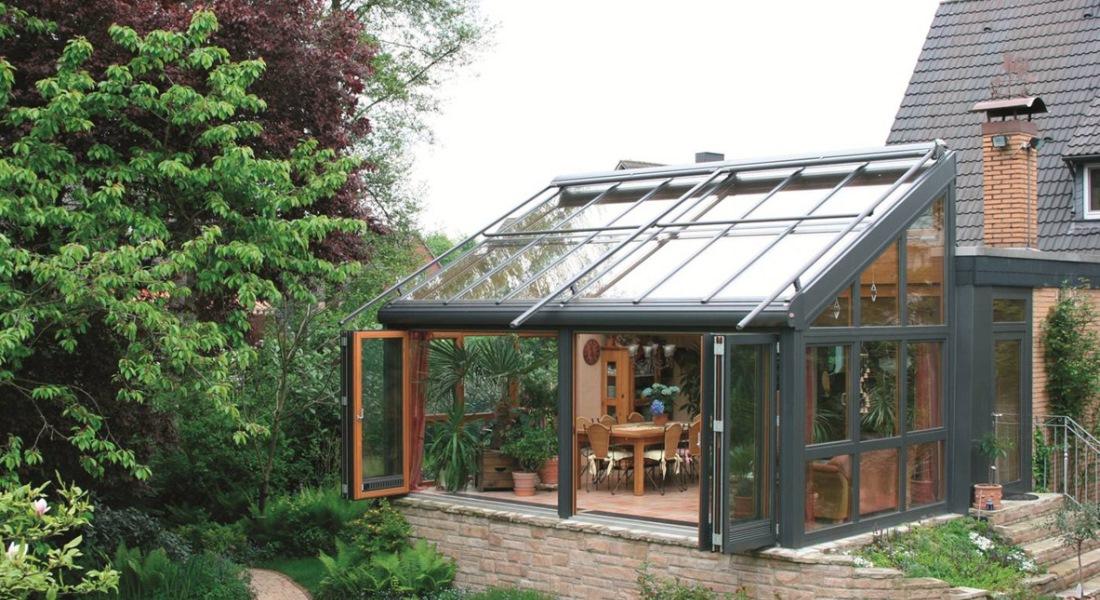 Крыша из поликарбоната для зимнего сада