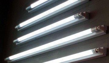 Фотография люминесцентных ламп, msk.ru