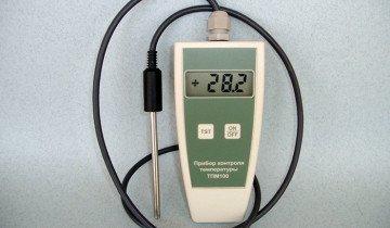 Прибор для измерения температуры почвы, econix.com