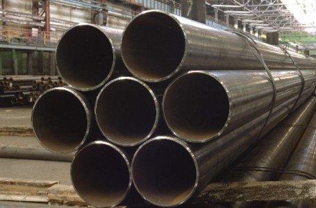 Фотография трубы из легированной стали