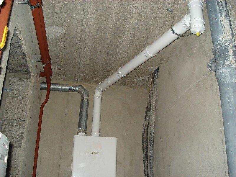 Дымоход для газового котла из нержавейки кто отвечает за дымоход в квартире