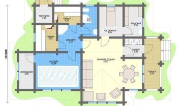 Проект банного комплекса