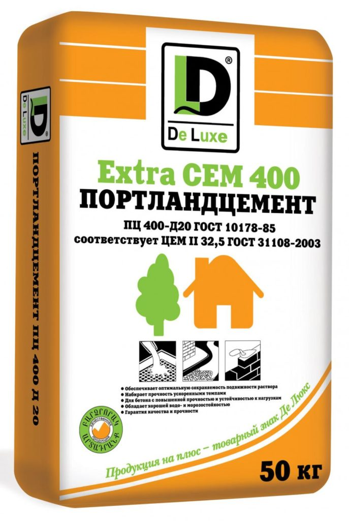 Цемент марки 4000