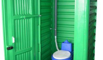 Пластиковая кабинка для торфяного биотуалета