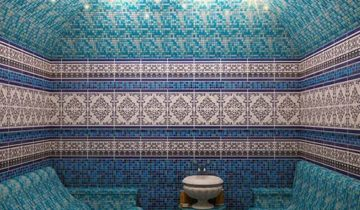 Хаммам в синей мозаике
