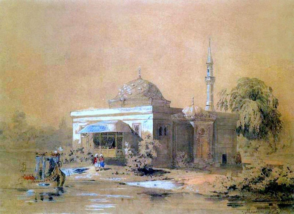 Эскиз «Турецкая баня»