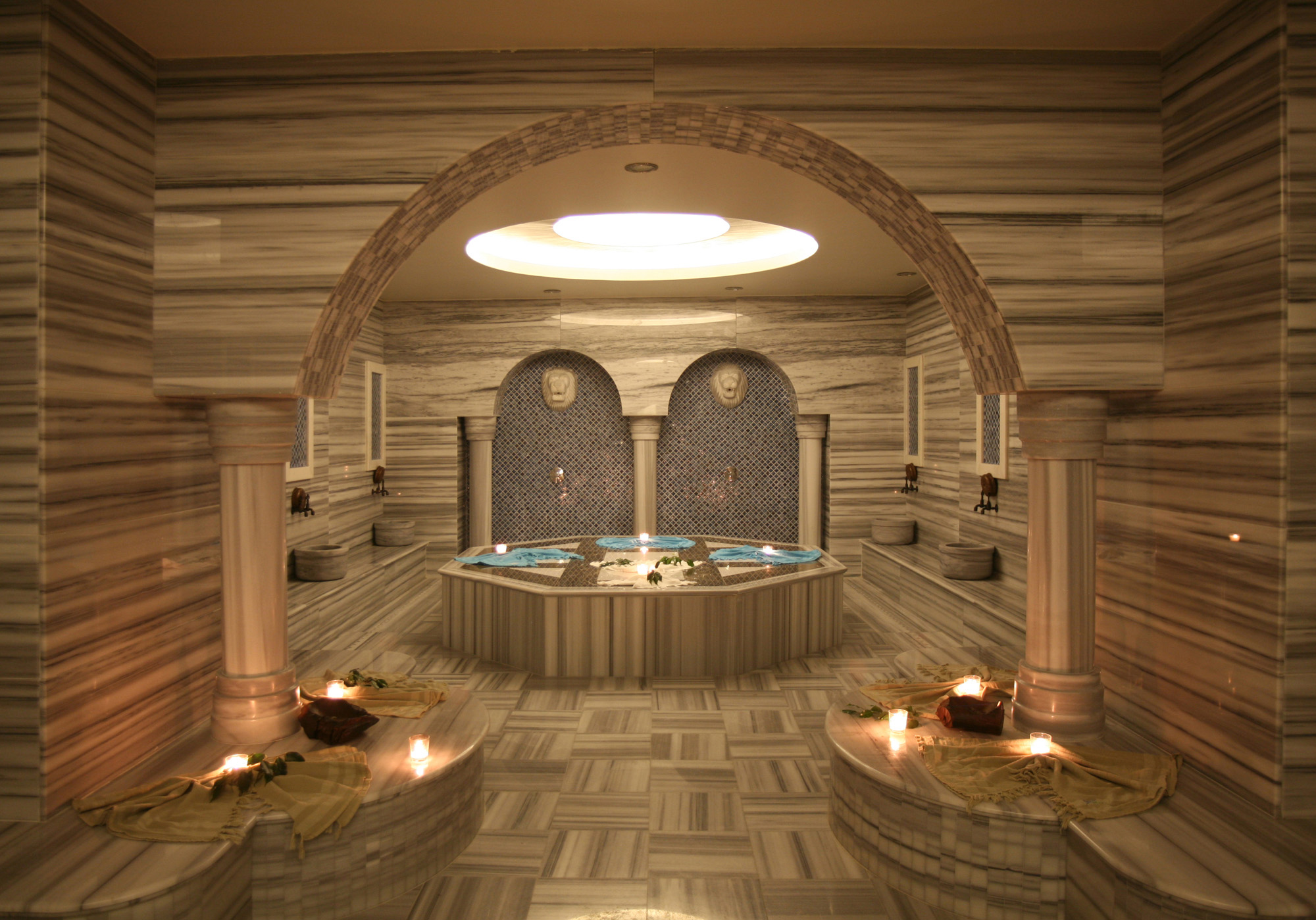 Принцип турецкой бани