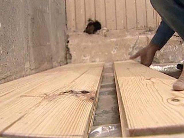 Обустройство деревянного пола в бане