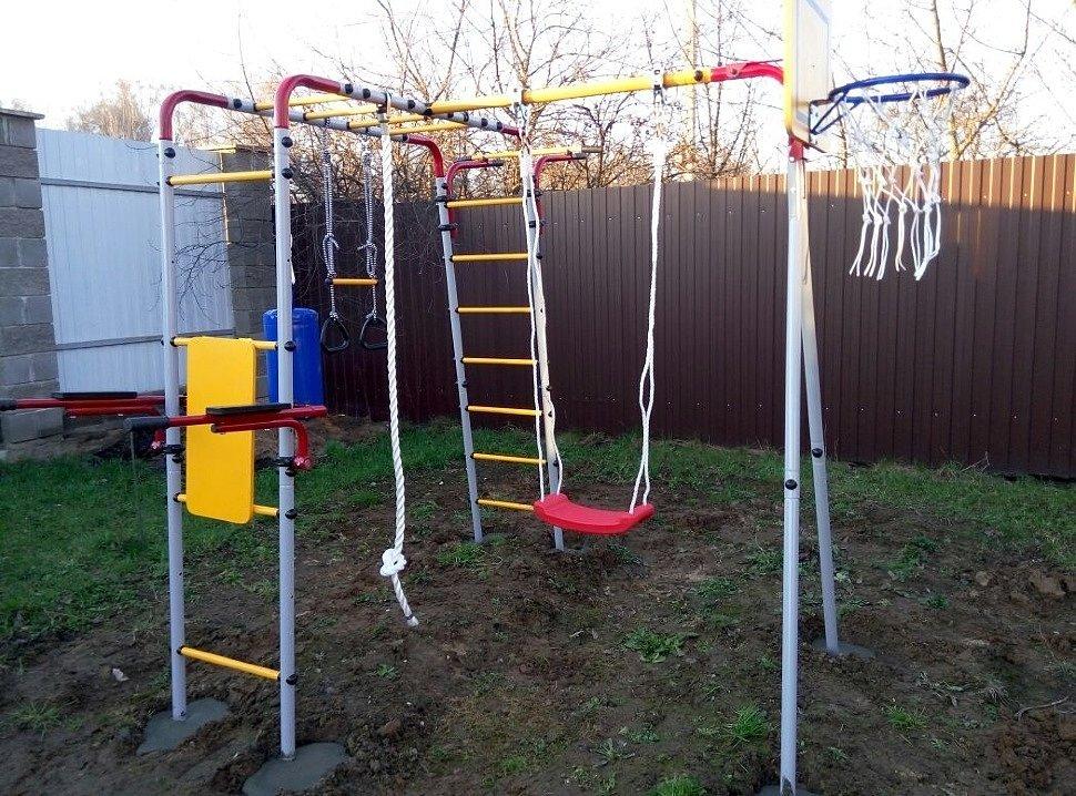 Как сделать детские и взрослые спортивные площадки для дачи