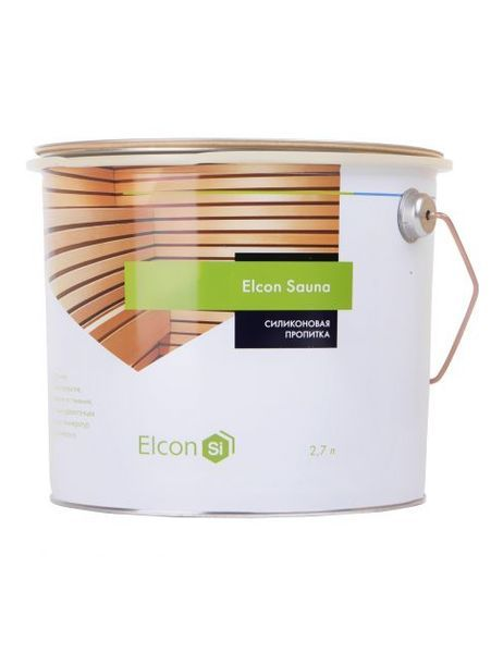Силиконовая пропитка для потолка Elcon Sauna