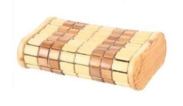 Подголовник бамбуковый плетеный