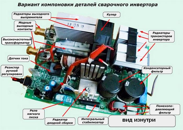 схема инверторов фото того, верхняя часть