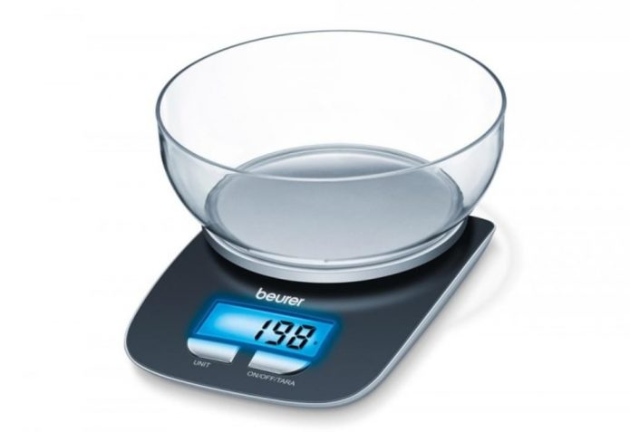 Кухонные весы со съёмной чашей