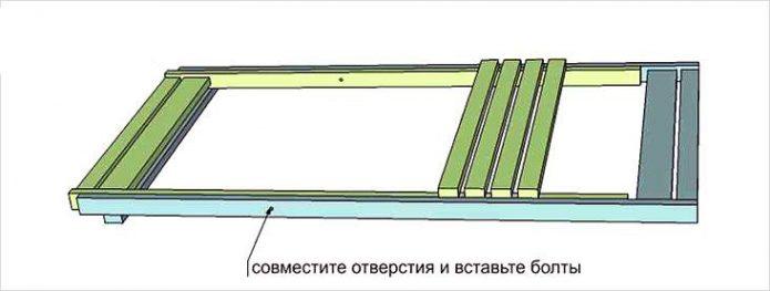 Спинка и сиденье