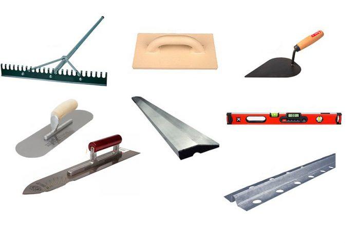 Инструмент для утепления бетонного пола