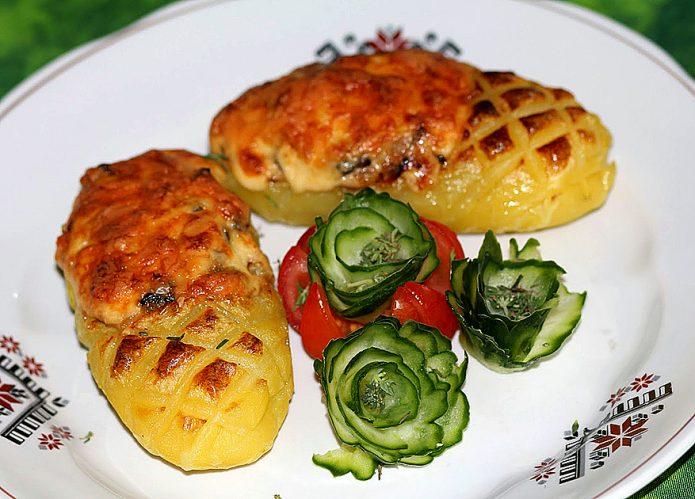 Блюдо «Картофельный лапоть»