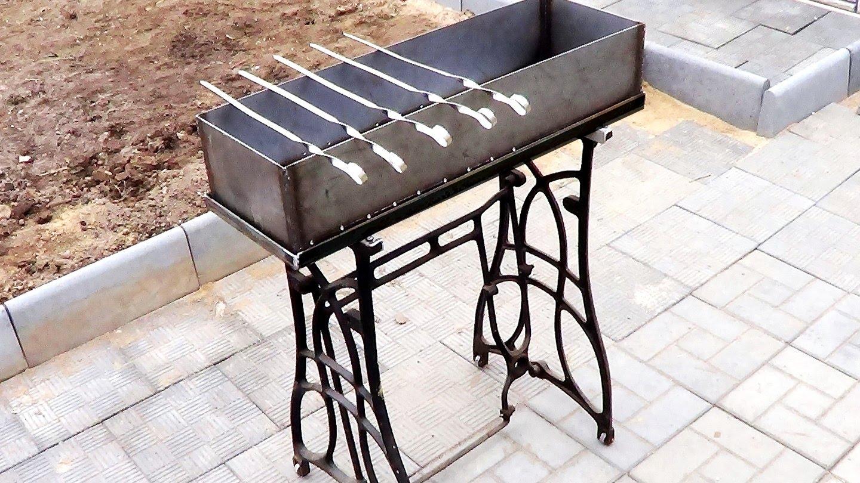 Делаем простой и красивый металлический мангал