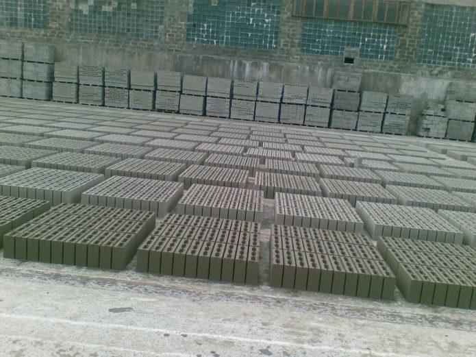 Шлакоблоки стеновые