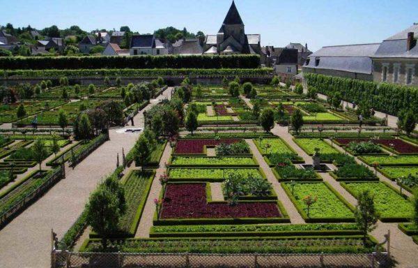 Разбивка огорода во Франции