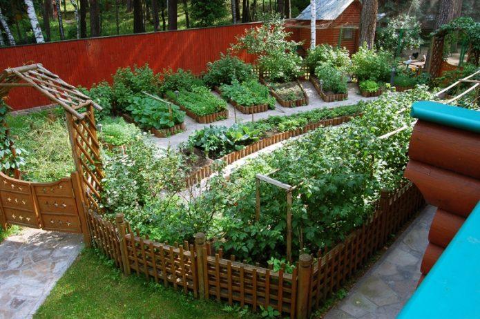 Обособленный огород