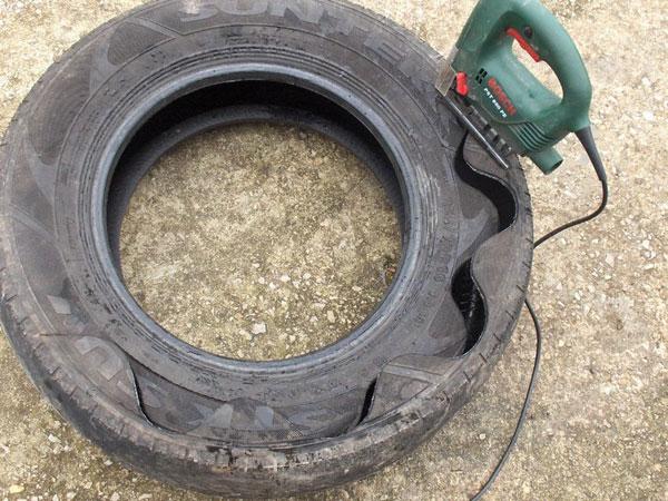 Резка шины